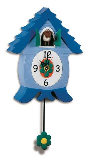 Cuckoo Clock for Kids Wall Clock Ewe Sheep Coo Clocks