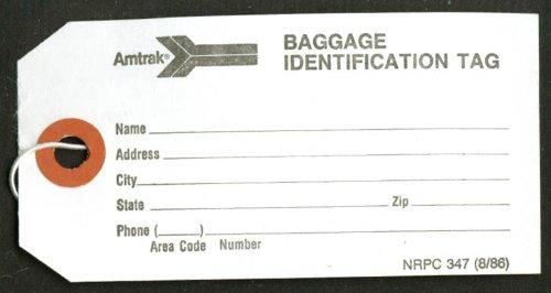 amtrak-baggage-identification-tag-1986-unused