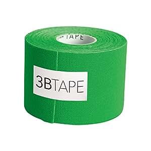 "3B Scientific Green Cotton Rayon Fiber Kinesiology Tape, 16' Length x 2"" Width"