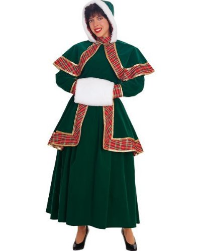 Long Victorian Caroler Adult Size Small