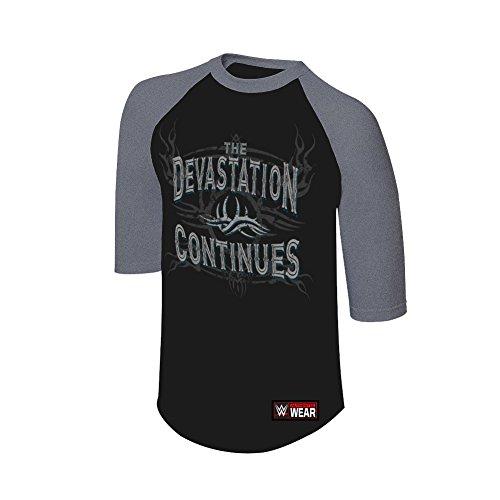 WWE -  Canotta  - Uomo Black S