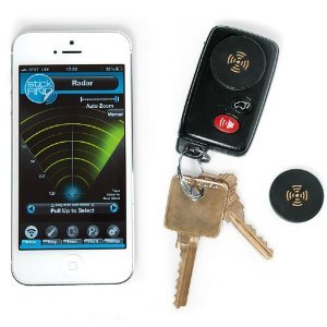 Stick-N-Find Bluetooth Location Tracker - Set of 2http【並行輸入】
