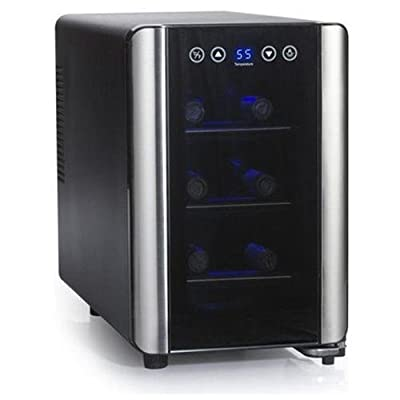 Wine Enthusiast 6 Bottle Touch screen Wine Cooler