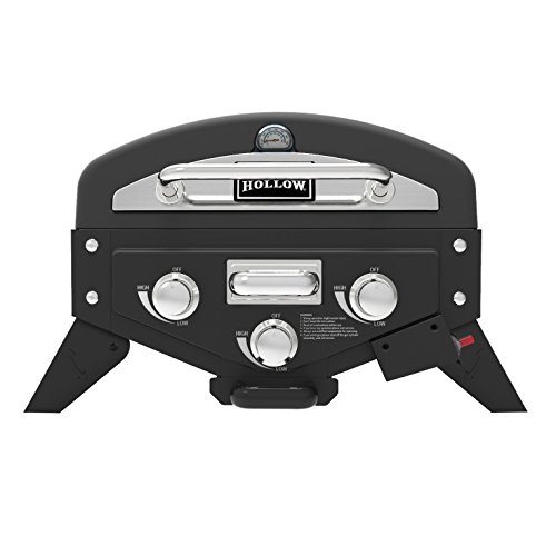 Smoke Hollow VT280SS1 Vector 3-Burner Tabletop Grill with Smoke Tray (Grill Table Top compare prices)