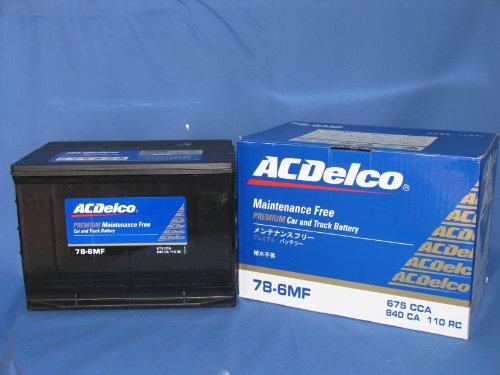 ACDELCO 輸入車 BCI メンテナンスフリーバッテリー 保証付 78-6MF