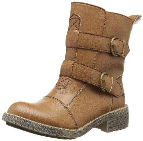 Rocket Dog Womens Talisa Biker Boots TALIS-TN Tan 7 UK, 40 EU