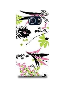 Fashionable Floral Pattern Samsung S6 Edge Plus Case