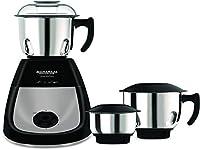 Kitchen Appliances Whiteline Joy Turbo 750 W Mixer Grinder (Black & Silver)
