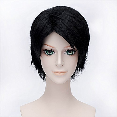 lanting-attack-on-titan-levi-black-short-styled-woman-cosplay-party-fashion-anime-wig