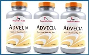 Advecia Hair Loss Supplement - 3 bottles