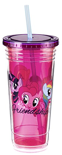 Tazza da viaggio, in materiale acrilico, motivo: My Little Pony, 24 oz licenza 42214 Gifts Toys