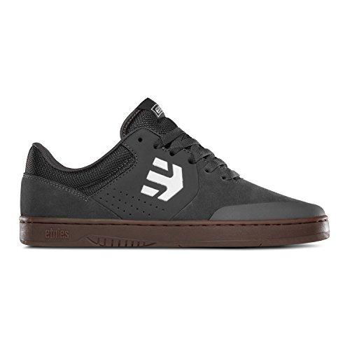 Etnies Men's Marana Skateboarding Shoe, Grey/White/Gum, 10.5 M US