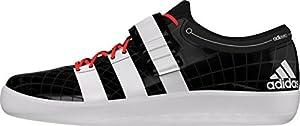 Adidas Adizero shotput 2 cblack/ftwwht/solred, Größe Adidas:14 [Misc.]