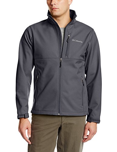 Columbia Men'S Tall Ascender Softshell Jacket, Graphite, 4Xt