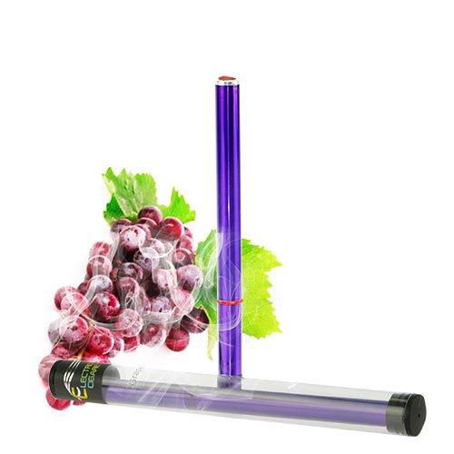 Luxus E Shisha 500 Zug Weintraube Profi Wasser Pfeife Multi LED E-Hookah to go 2 go