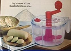 Bliss Aata Maker (Dough Maker) cum Chop N Churn By A To Z Sales - Color may vary - AZ5034