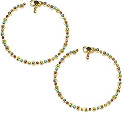 Charms Diva Precious Diamond Studded Anklet