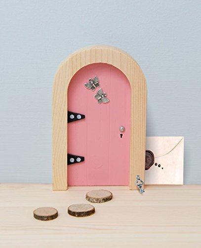 The irish fairy door company pink round door includes for The little fairy door company