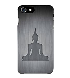 HiFi Designer Phone Back Case Cover Apple iPhone 6S :: Apple iPhone6S ( Gautama Buddha Logo Peace )