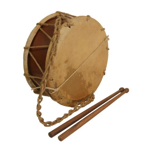 """Ems Tabor Drum, 9"""", With Sticks"""