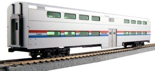 kato-usa-model-train-products-pullman-amtrak-phase-iii-bi-level-4-window-coach-by-kato-trains