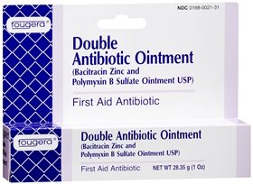Fougera double antibiotic first aid ointment