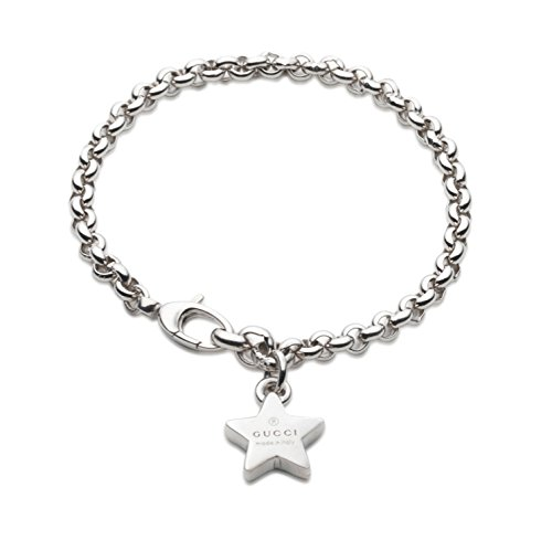 Gucci, bracciale Trademark, con charm stella
