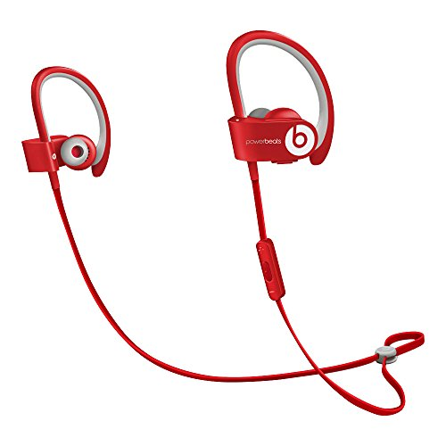 Beats by Dr. Dre Powerbeats2 Wireless Auricolari Sportivi In-Ear Senza Fili, Rosso