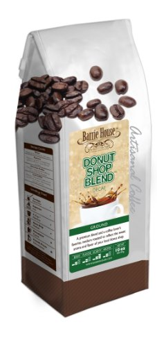 Barrie House Coffee Decaf Donut Shop Blend Coffee (10 oz bag)