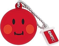 Emtec Smiley's world shame (Red) pendrive
