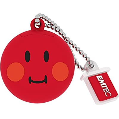 Emtec Smiley's world shame (Red) pendrive