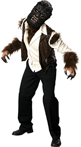 Rubies Mens Scary Movie Characters Wolfman Deluxe Party Fancy Costume