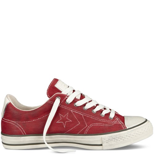 Converse John Varvatos Star Player EV OX Leather Men s Shoes Red 142969C  SIZE 9 5 7c0ebb0f7