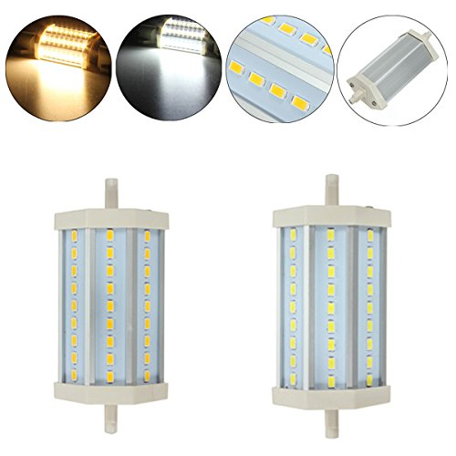 R7S Led Bulb 10W 27 Smd 5630 White/Warm White Ac 85-265V 118Mm Light