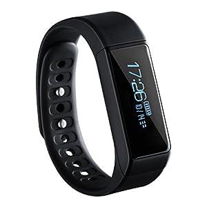 Pulsera Actividad de VicTsing, Monitor de Actividad y Bluetooth, Impermeable, Monitor de Dormir, Podómetro, Monitor de Calorías, Para Android y IOS