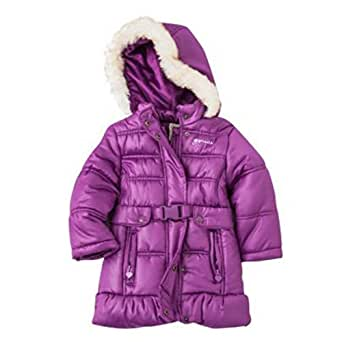 Amazon.com: Osh Kosh Toddler Girls Purple Coat Winter Puffer Jacket: Clothing
