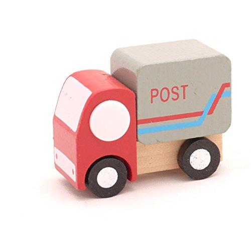 Mini Wooden Car Post Car,T00077 - 1