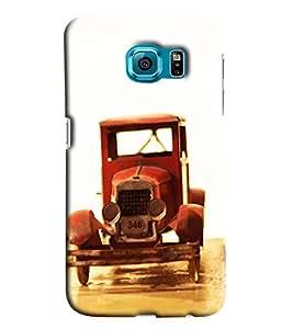 Blue Throat Vintage Car Model Printed Designer Back Cover/ Case For Samsung Galaxy S7