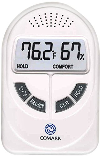 Comark Instrument DTH880  Temperature and Humidity Tester, 32 to 122 degrees F