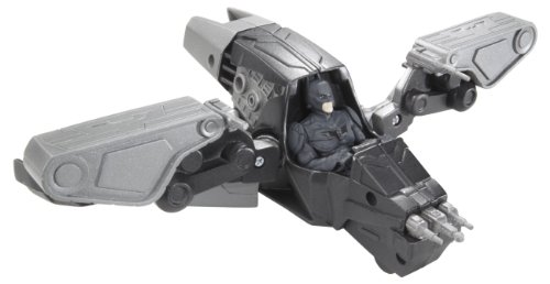 Batman The Dark Knight Rises Quicktek Gunship Hoverjet Vehicle