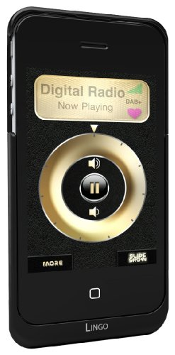 Lingo iRis iPhone 4 Battery Pack with Built-In FM/DAB/DAB+ Radio - Black Black Friday & Cyber Monday 2014