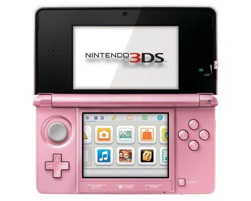 Nintendo 3DS Pink - Nintendo 3DS
