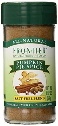 Frontier Pumpkin Pie Spice Salt-Free Blend, 1.92-Ounce Bottle front-518065