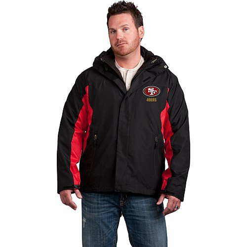 Reebok San Francisco 49ers Mountain Trek Jacket Extra Large