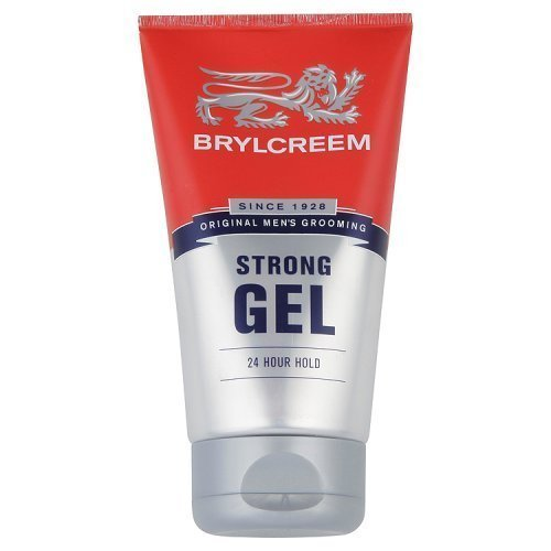 Brylcreem New 6 X Strong 24 Hour Hold Gel 150Ml Mens Hair Styling Gel - Bargain! by Brylcreem