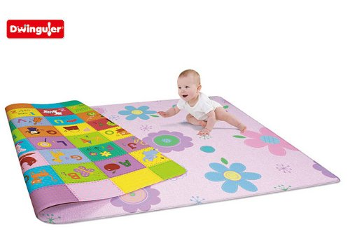 Dwinguler Eco-friendly Kids Play Mat - Flower Garden (Large)