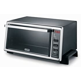 DeLonghi DO400 1400-Watt Digital Control 4-Slice Toaster Oven