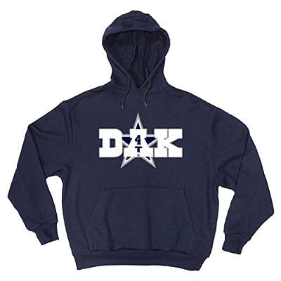 "Navy Dallas Dak ""Dak Logo"" Hooded Sweatshirt"