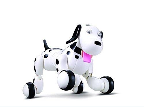 WayIn-24G-Wireless-Fernbedienung-Intelligent-Electronic-Smart-Hund-mit-Tanzen-fr-Kinder-Lustige-Spielzeug-Schwarz