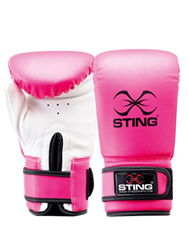 Sting Orion Tot Gel Guanto Boxe, Uomo, Rosa, M